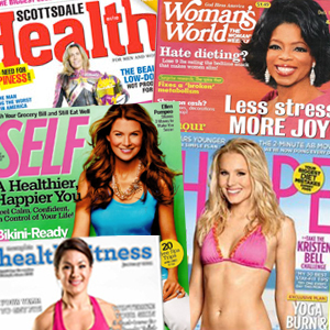 As Seen In SHAPE, SELF, Women's World and more…