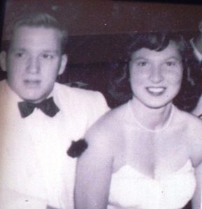 Herb and Mom at their High School Prom